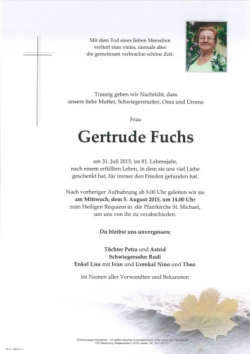 Gertrude Fuchs