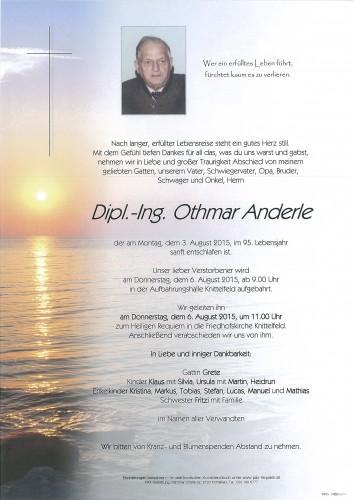 Dipl.-Ing. Othmar Anderle