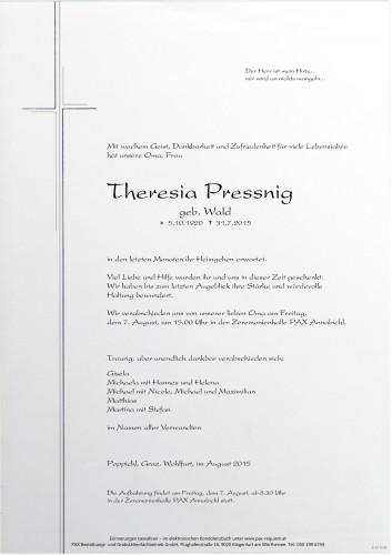 Theresia Pressnig