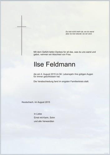 Ilse Feldmann