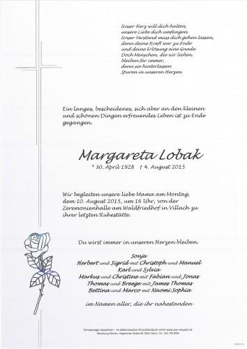 Margareta Lobak