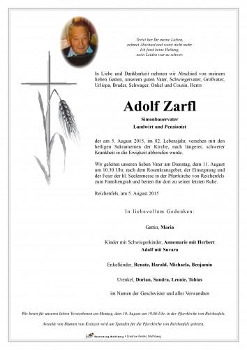 Adolf Zarfl