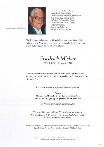 Friedrich Michor
