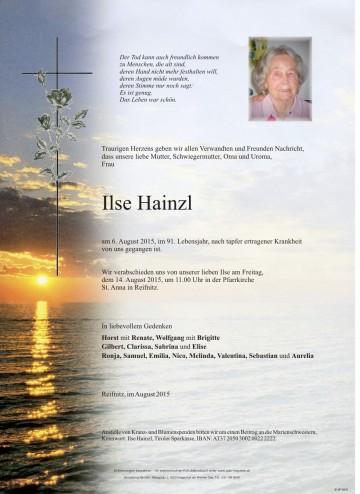 Ilse Hainzl