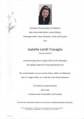 Isabella Lendl-Travaglia