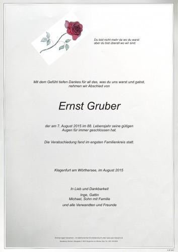 Ernst Gruber