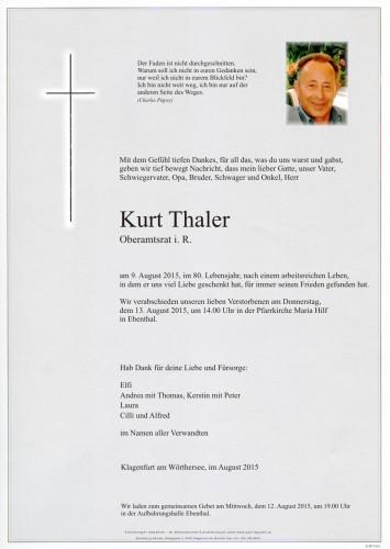 Kurt Thaler