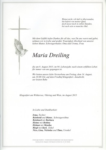 Maria Dreiling