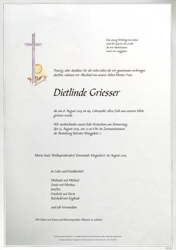 Dietlinde Griesser