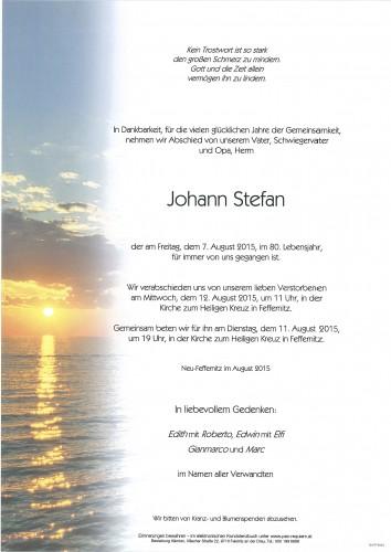 Johann Stefan
