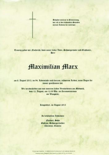 Maximilian Marx