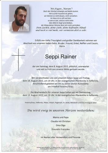 Seppi Rainer