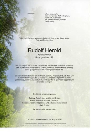 Rudolf Herold