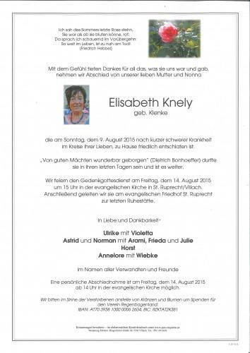 Elisabeth Knely
