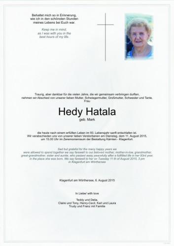 Hedwig Hatala