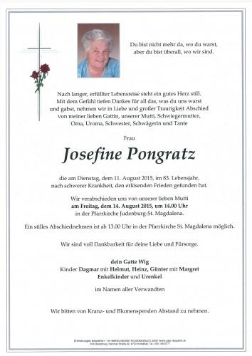 Josefine Pongratz