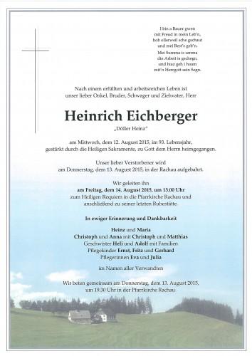 Heinrich Eichberger