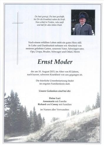 Ernst Moder