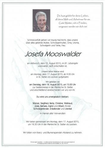 Josefa Mooswalder