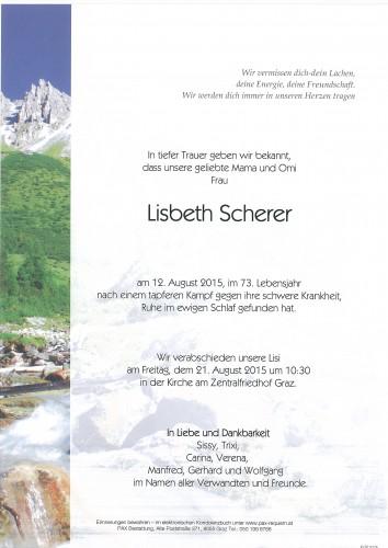 Scherer Lisbeth
