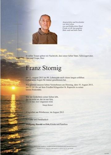 Franz Stornig