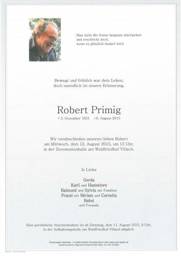 Robert Primig