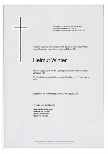 Helmut Winter