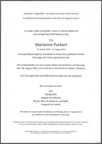 Purkert Marianne