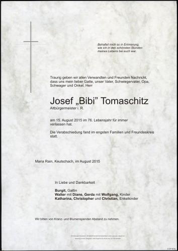 Josef Tomaschitz
