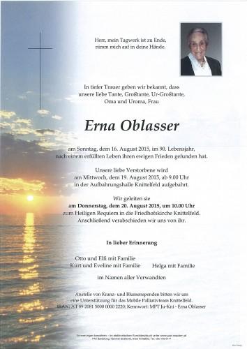 Erna Oblasser