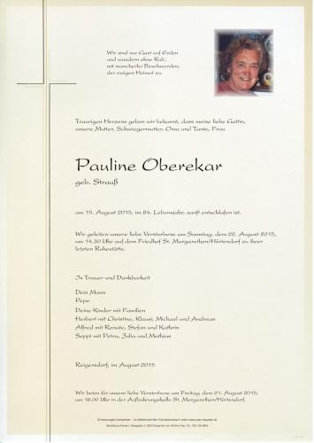 Pauline Oberekar