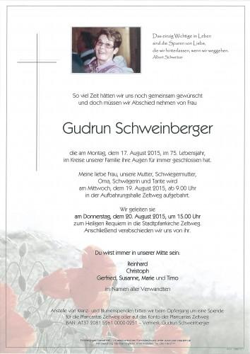 Gudrun Schweinberger