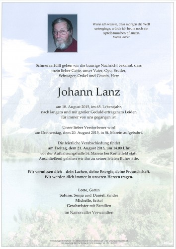 Johann Lanz