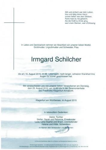 Irmgard Schilcher