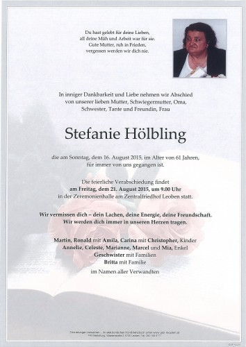 Stefanie Hölbling