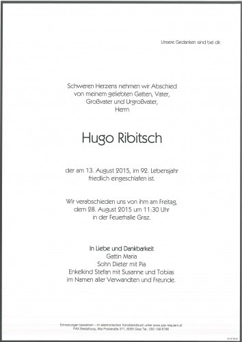 Hugo Ribitsch
