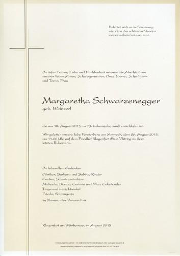 Margaretha Schwarzenegger
