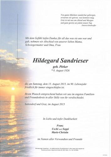 Hildegard Sandrieser