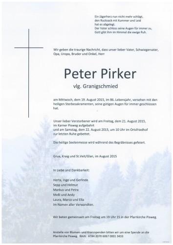 Peter Pirker