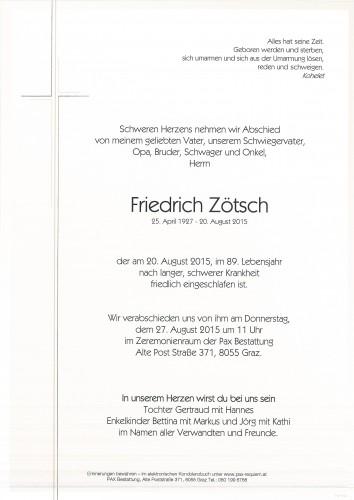 Friedrich Zötsch