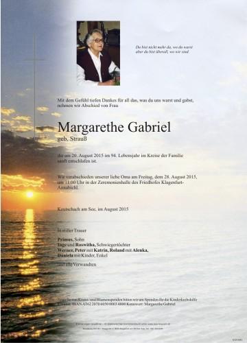 Margarethe Gabriel