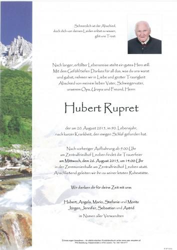 Hubert Rupret