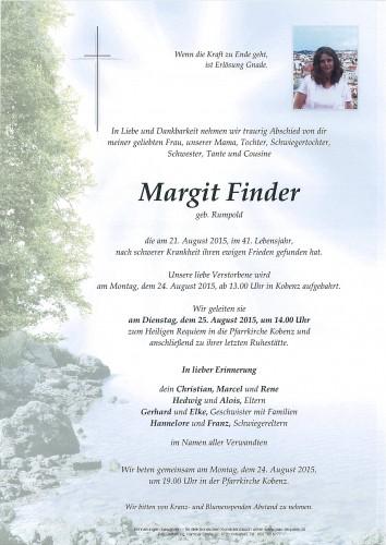 Margit Finder