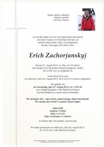 Erich Zachorjanskyj