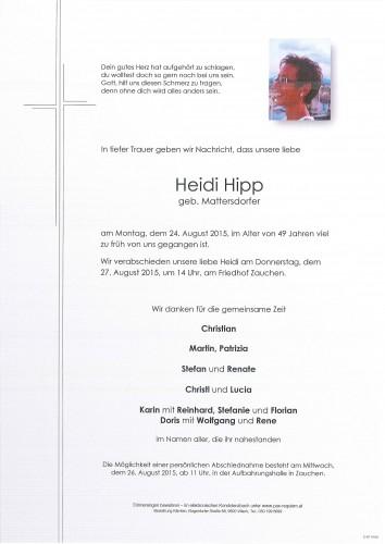Heidi Hipp