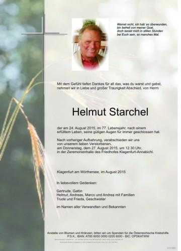 Helmut Starchel