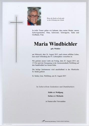 Maria Windbichler