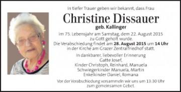 Dissauer Christine