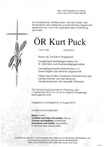 ÖR Kurt Puck