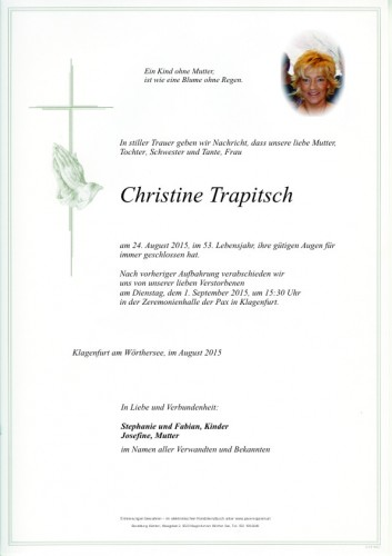 Christine Trapitsch